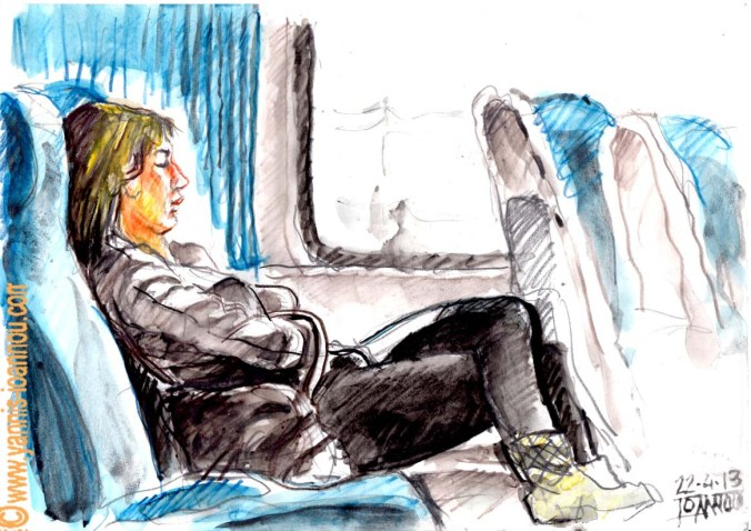 ..στο τραίνο απο Θεσσαλονίκη  2