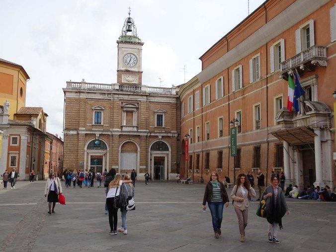 η πλατεία del Popoloτης Ραβέννας